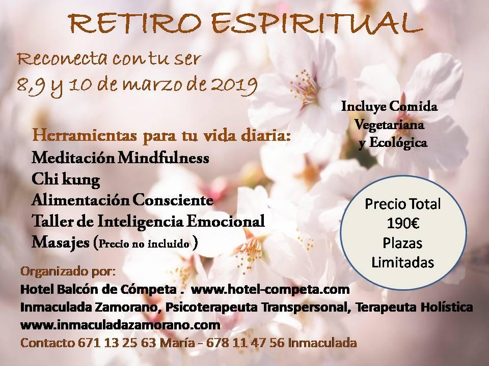 Necesitas Parar Retiro Espiritual En Málaga En Marzo De 2019