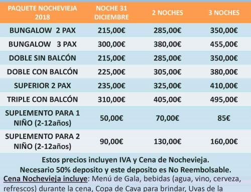 Oferta en el Hotel Balcón de Cómpeta para Nochevieja de 2018 en Málaga