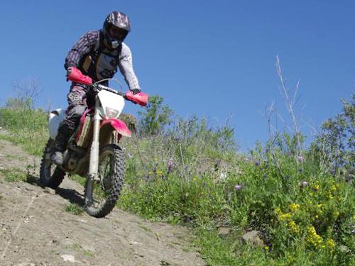 Explora la zona de Competa en Moto